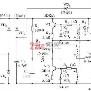 低成本高功率因数电子整流器电路图